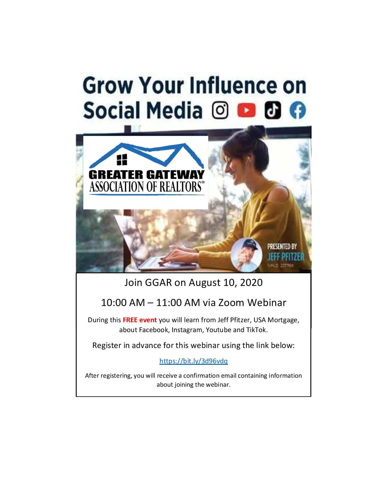 Grow Your Influence on Social Media