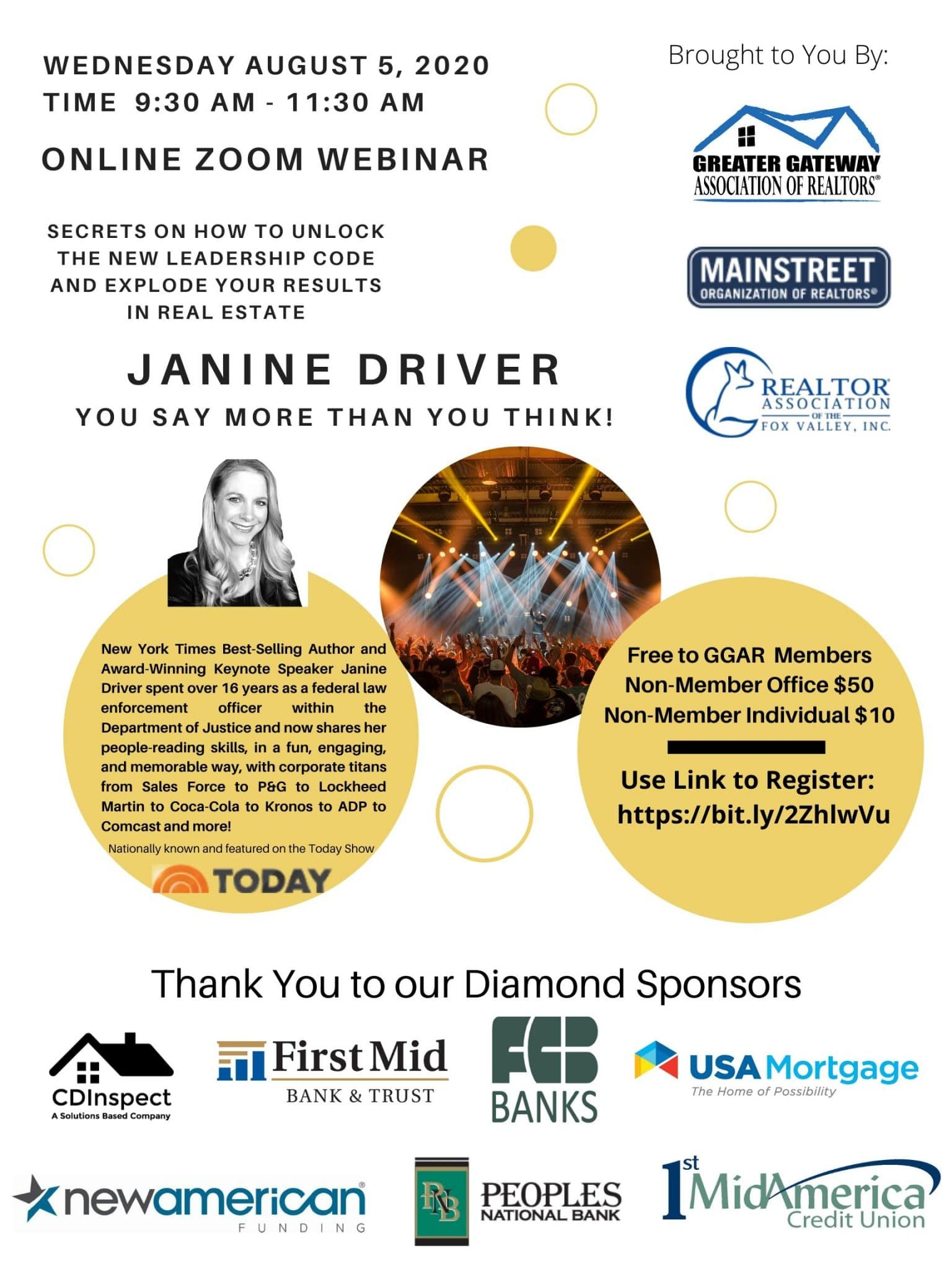 """Janine Driver """"You Say More Than You Think!"""""""